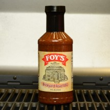 Foy's Brickyard Road BBQ Sauce 16oz