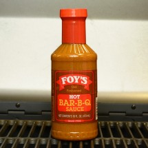 Foy's Old Fashioned Hot Bar-B-Q Sauce - 16 oz.