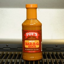 Foy's Old Fashioned Mild Bar-B-Q Sauce - 16 oz.