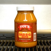 Foy's Old Fashioned Mild Bar-B-Q Sauce - 32 oz.