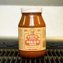 Pop's Hot Bar-B-Q Sauce - 32oz
